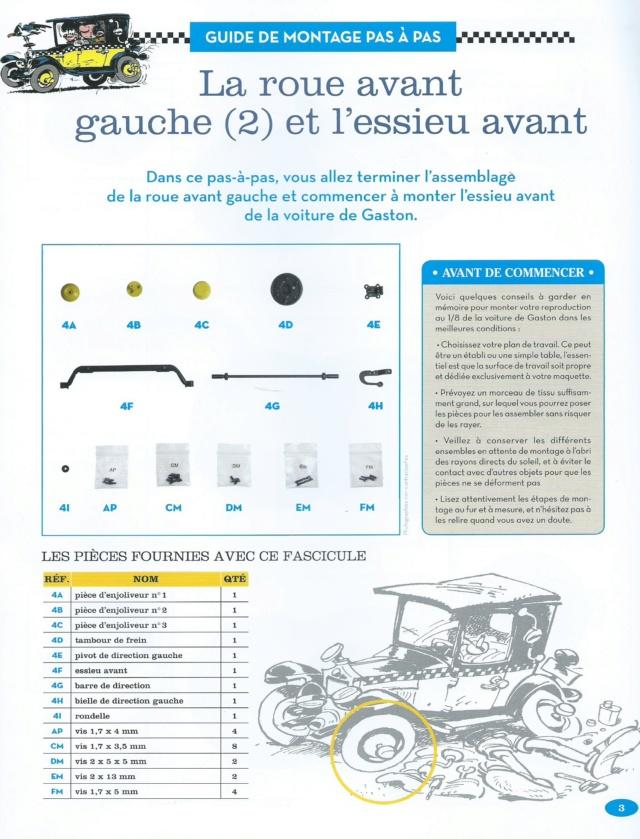 """Construction, par Glénans, de la """"Voiture de Gaston"""" au 1/8, de chez Hachette N04_li10"""