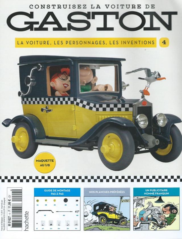 """Construction, par Glénans, de la """"Voiture de Gaston"""" au 1/8, de chez Hachette N04_pa10"""