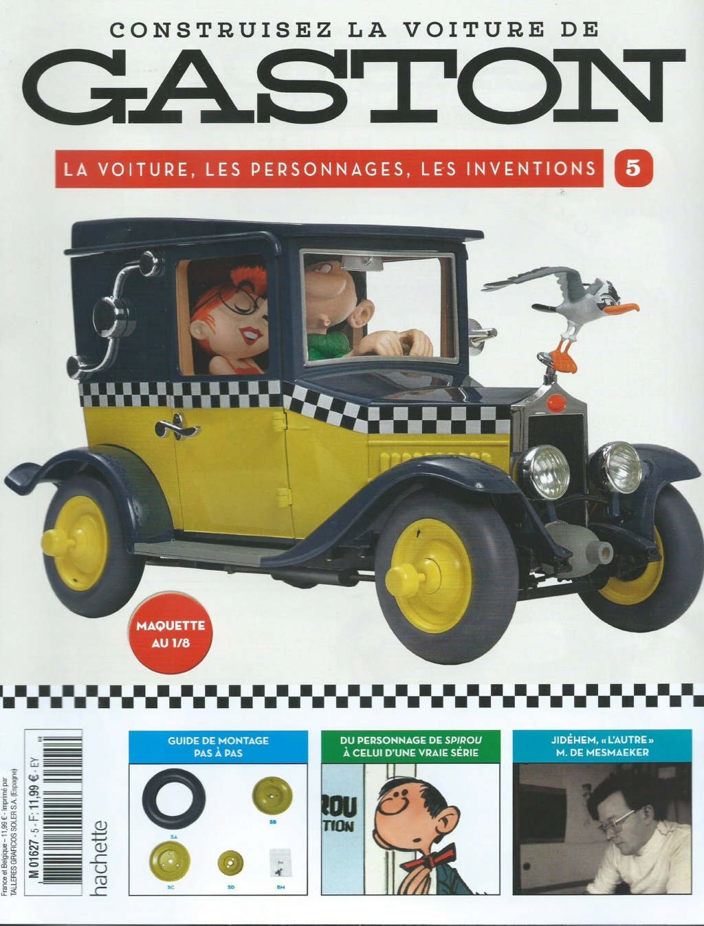 """Construction, par Glénans, de la """"Voiture de Gaston"""" au 1/8, de chez Hachette - Page 2 N05_pa10"""