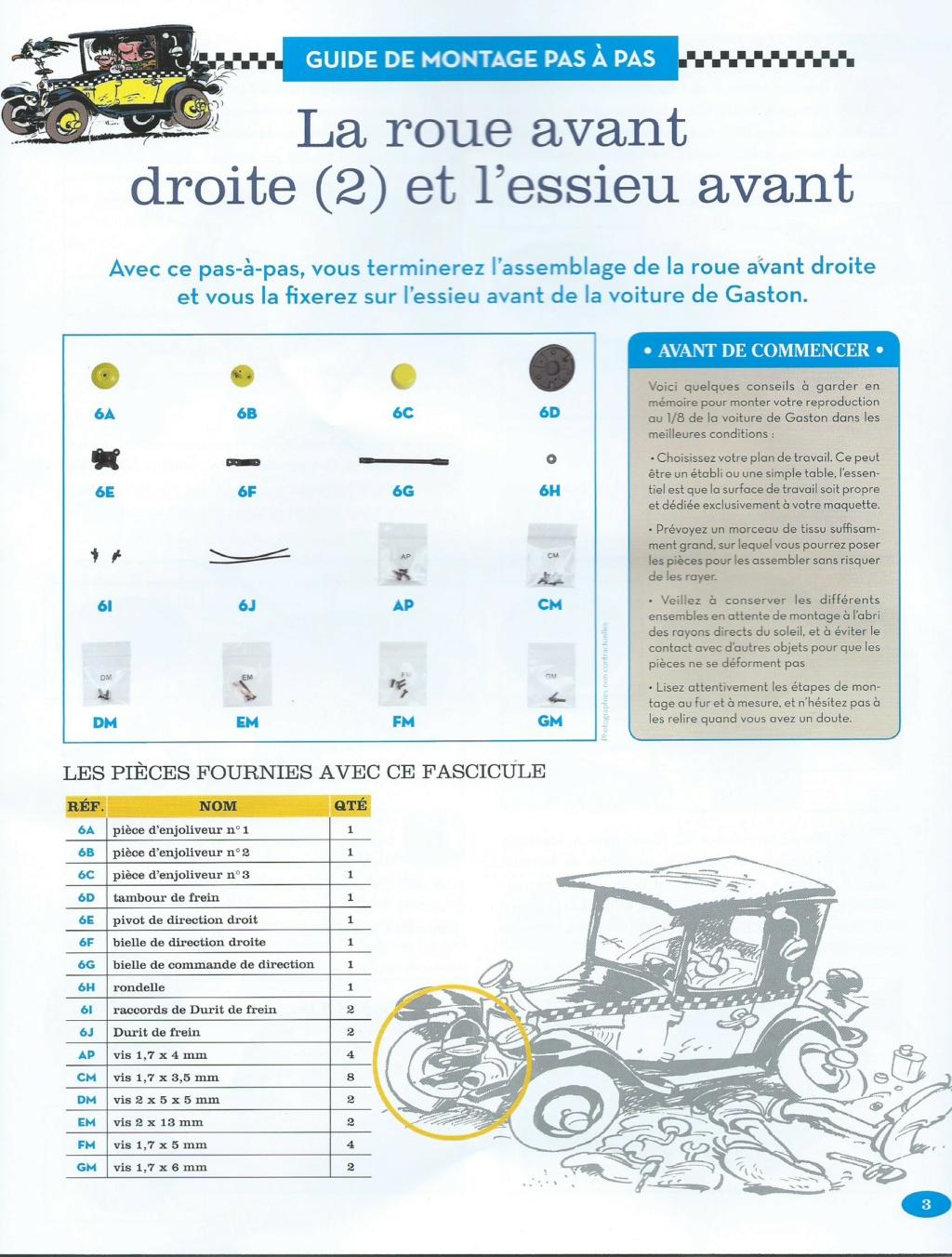 """Construction, par Glénans, de la """"Voiture de Gaston"""" au 1/8, de chez Hachette - Page 2 N06_li10"""