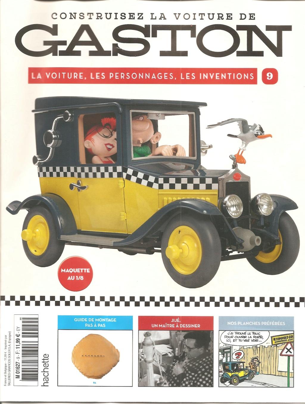 """Construction, par Glénans, de la """"Voiture de Gaston"""" au 1/8, de chez Hachette - Page 3 N09_pa10"""