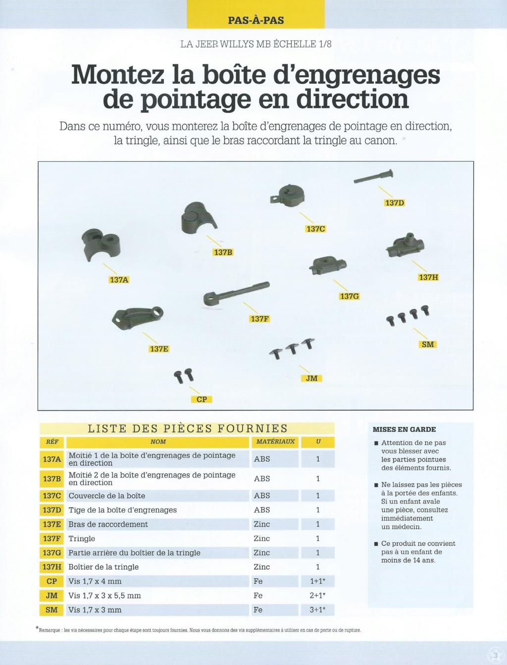 Jeep Willys - 1/8ème - Ed. Hachette - Construction par Glénans (Partie 2) - Page 27 N137_l10