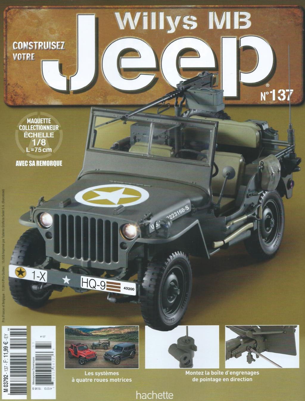 Jeep Willys - 1/8ème - Ed. Hachette - Construction par Glénans (Partie 2) - Page 27 N137_p10