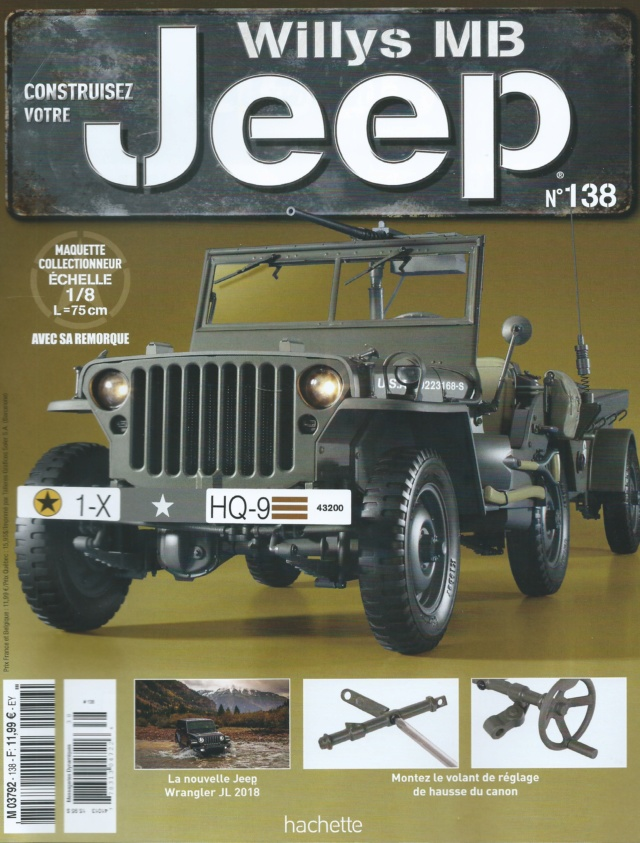 Jeep Willys - 1/8ème - Ed. Hachette - Construction par Glénans (Partie 2) - Page 27 N138_p11