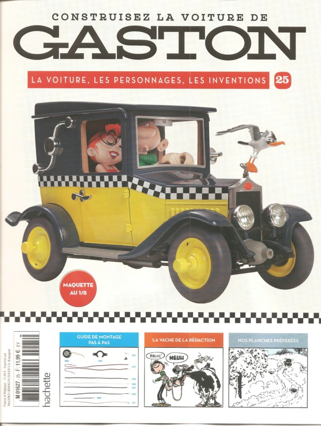 """Construction, par Glénans, de la """"Voiture de Gaston"""" au 1/8, de chez Hachette - Page 7 N25_pa10"""