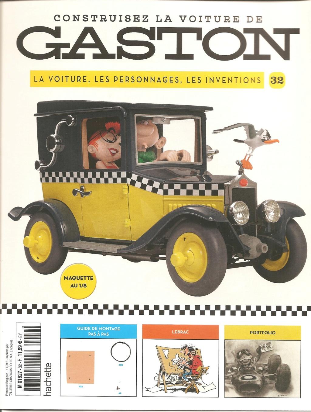 """Construction, par Glénans, de la """"Voiture de Gaston"""" au 1/8, de chez Hachette - Page 8 N32_pa10"""