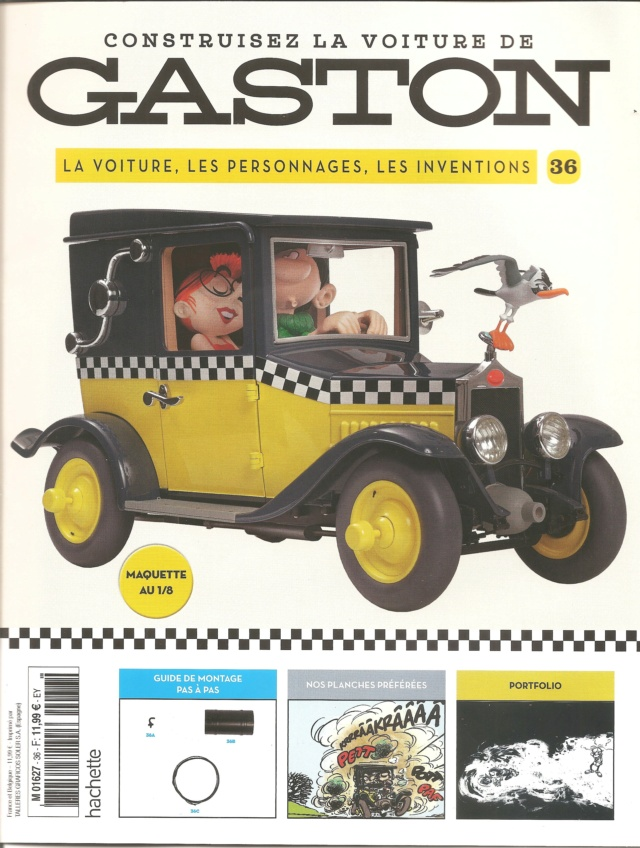 """Construction, par Glénans, de la """"Voiture de Gaston"""" au 1/8, de chez Hachette - Page 10 N36_pa11"""