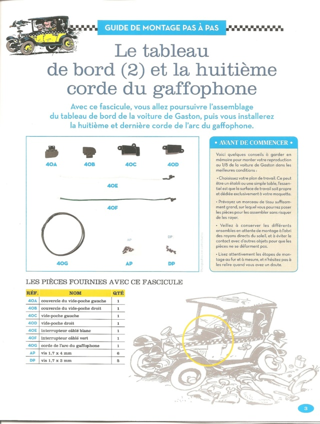 """Construction, par Glénans, de la """"Voiture de Gaston"""" au 1/8, de chez Hachette - Page 10 N40_li10"""