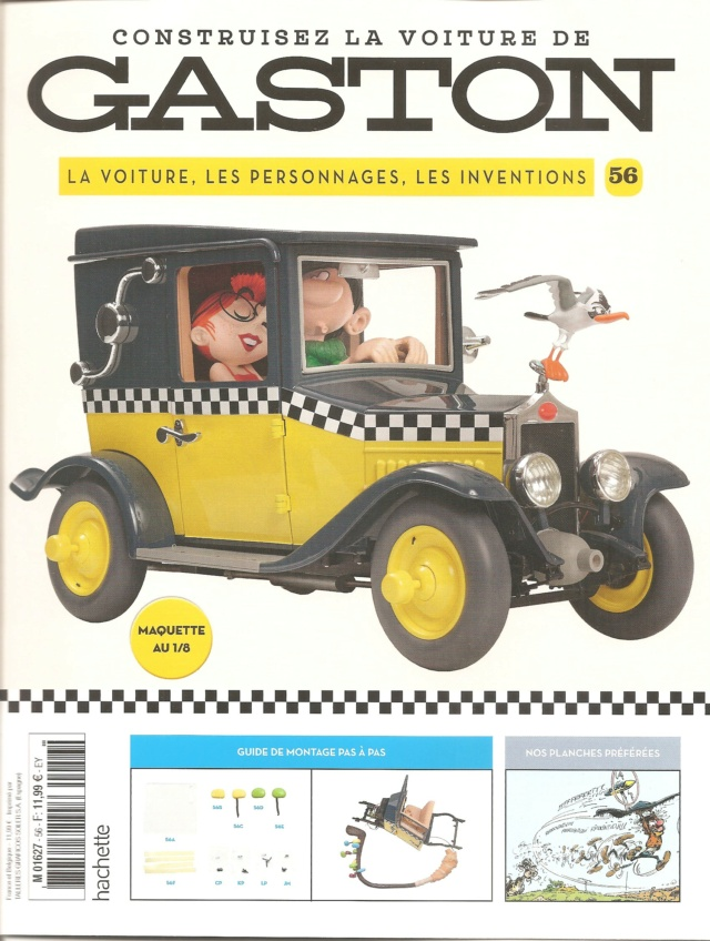"""Construction, par Glénans, de la """"Voiture de Gaston"""" au 1/8, de chez Hachette - Page 15 N56_pa11"""