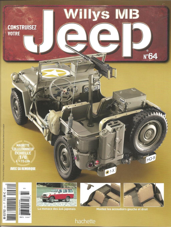 Jeep Willys - 1/8ème - Ed. Hachette - Construction par Glénans (Partie 1) - Page 37 N64_pa10