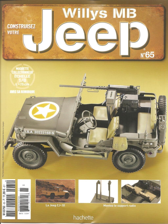 Jeep Willys - 1/8ème - Ed. Hachette - Construction par Glénans (Partie 1) - Page 37 N65_pa10