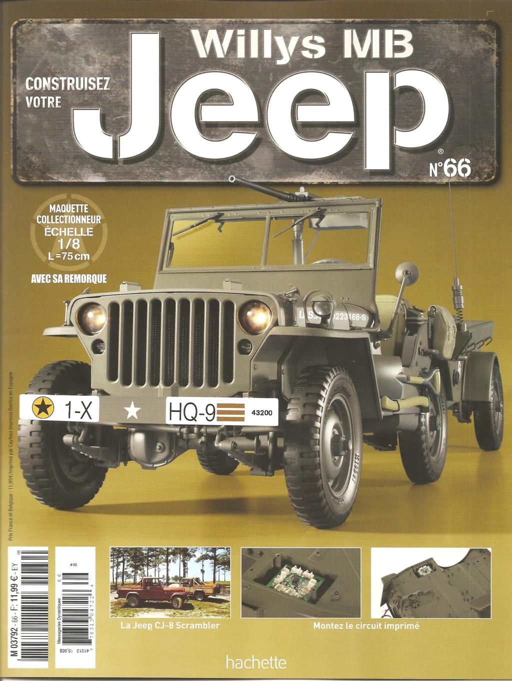 Jeep Willys - 1/8ème - Ed. Hachette - Construction par Glénans (Partie 1) - Page 37 N66_pa10