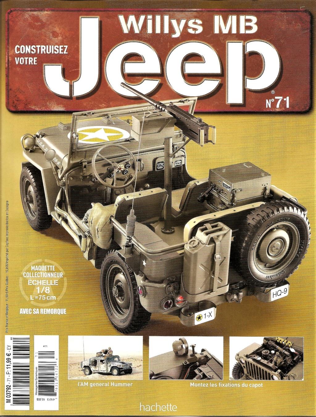 Jeep Willys - 1/8ème - Ed. Hachette - Construction par Glénans (Partie 1) - Page 39 N71_pa10