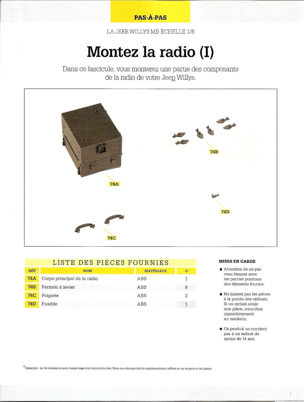 Jeep Willys - 1/8ème - Ed. Hachette - Construction par Glénans (Partie 2) N74_li10