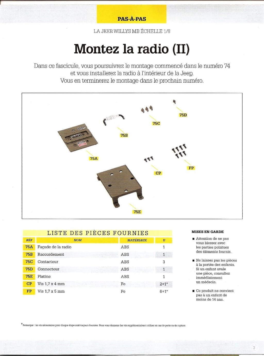 Jeep Willys - 1/8ème - Ed. Hachette - Construction par Glénans (Partie 2) N75_li10