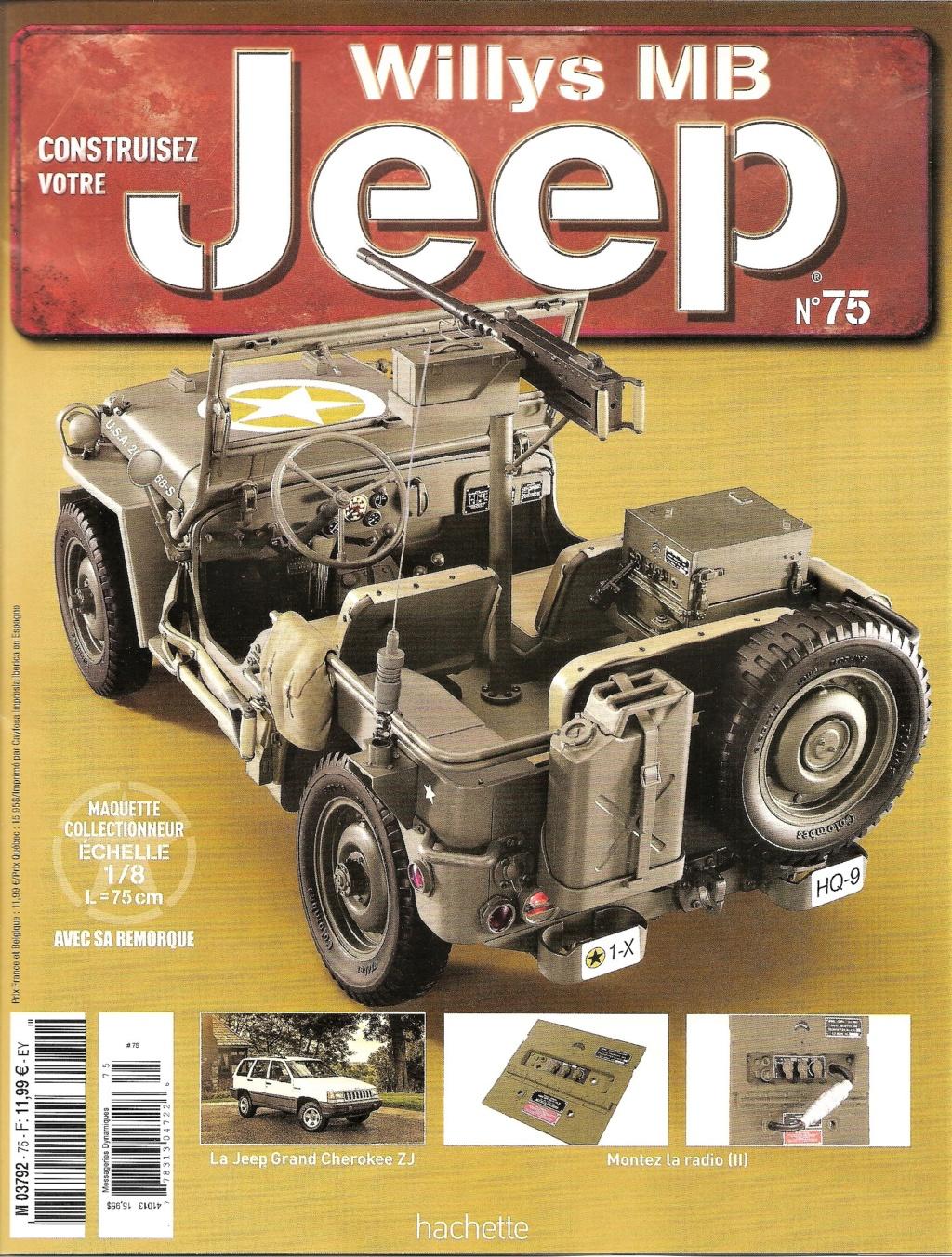 Jeep Willys - 1/8ème - Ed. Hachette - Construction par Glénans (Partie 2) N75_pa11