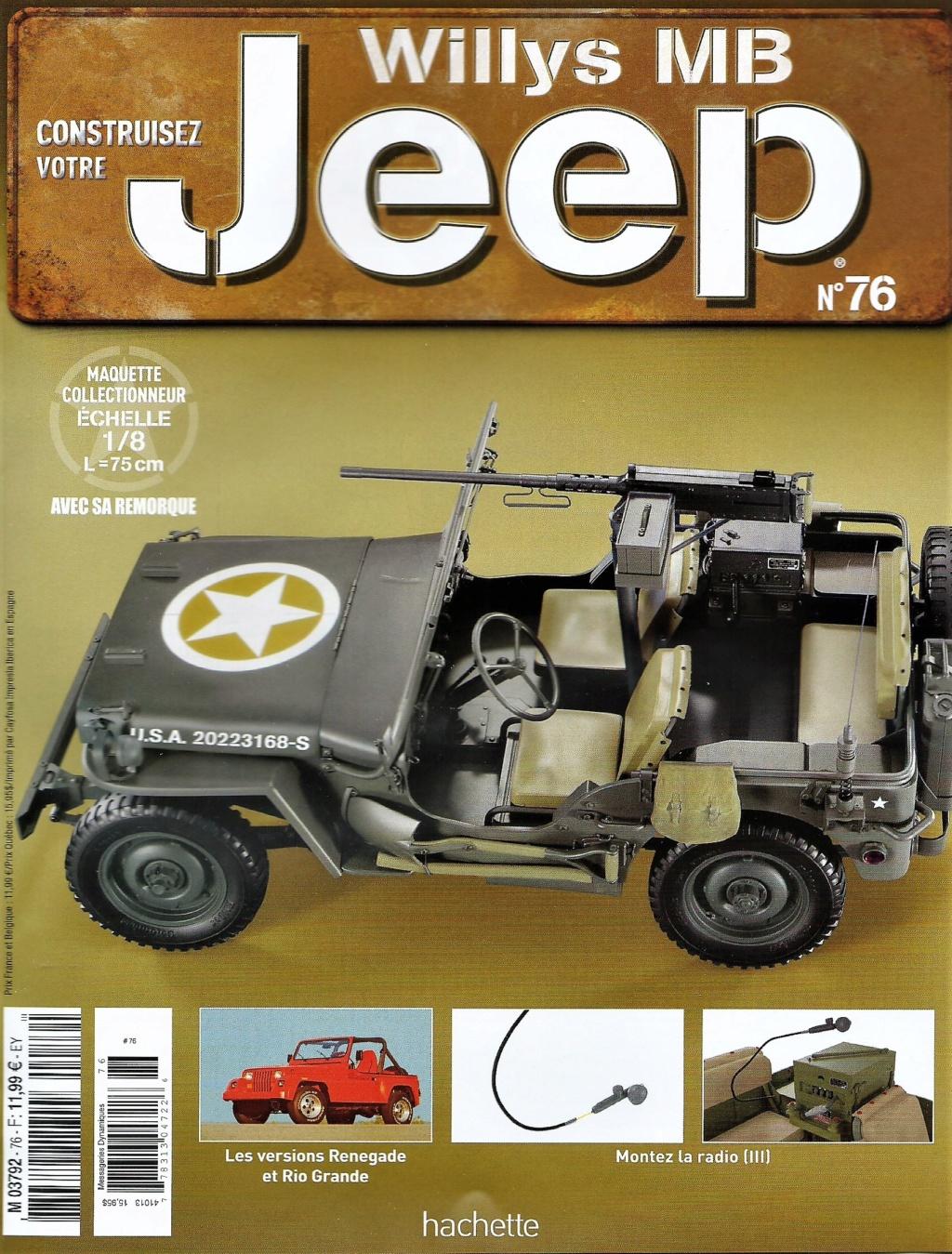 Jeep Willys - 1/8ème - Ed. Hachette - Construction par Glénans (Partie 2) - Page 3 N76_pa10