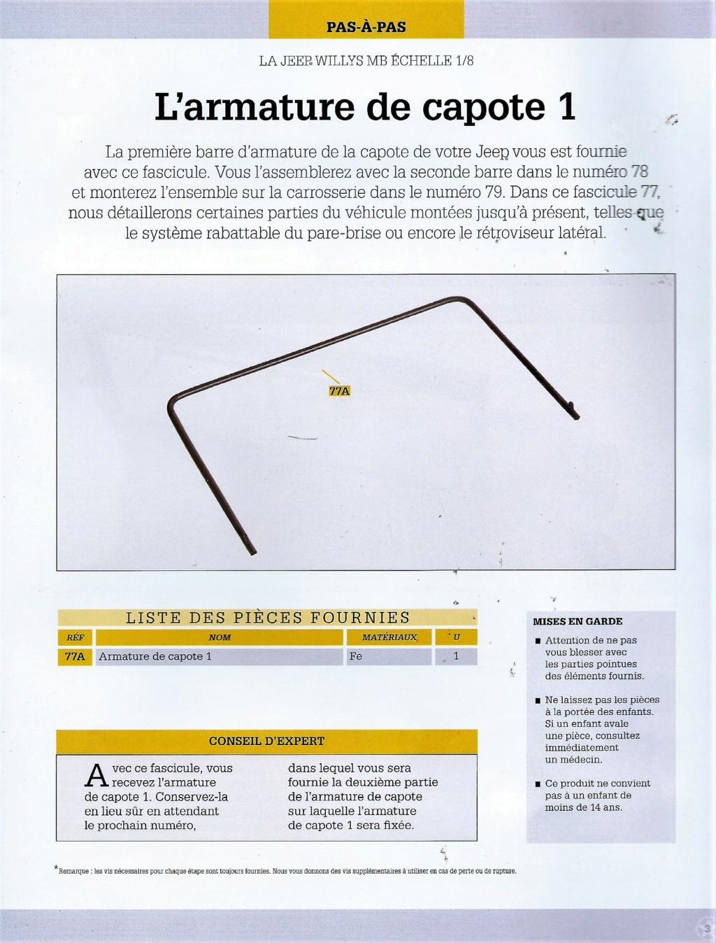 Jeep Willys - 1/8ème - Ed. Hachette - Construction par Glénans (Partie 2) - Page 3 N77_li10