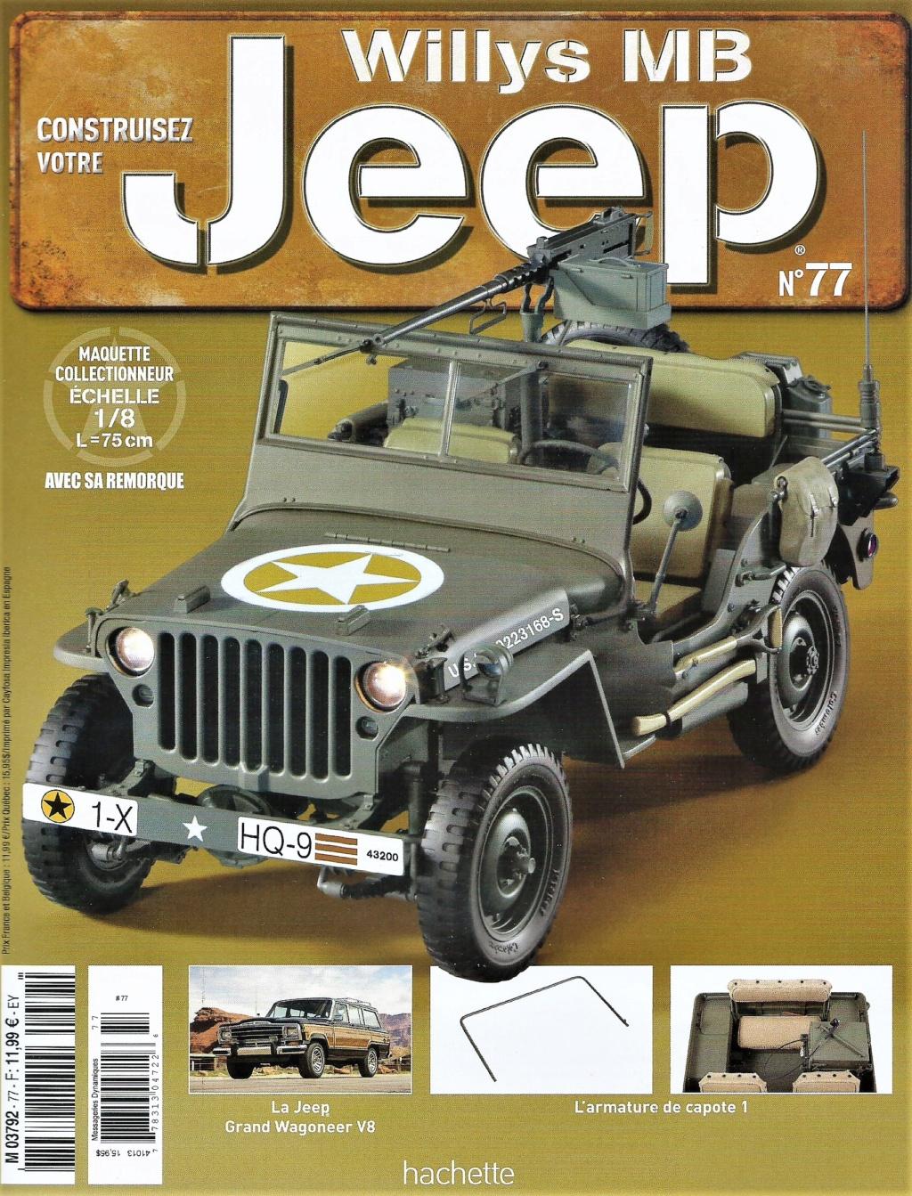 Jeep Willys - 1/8ème - Ed. Hachette - Construction par Glénans (Partie 2) - Page 3 N77_pa10