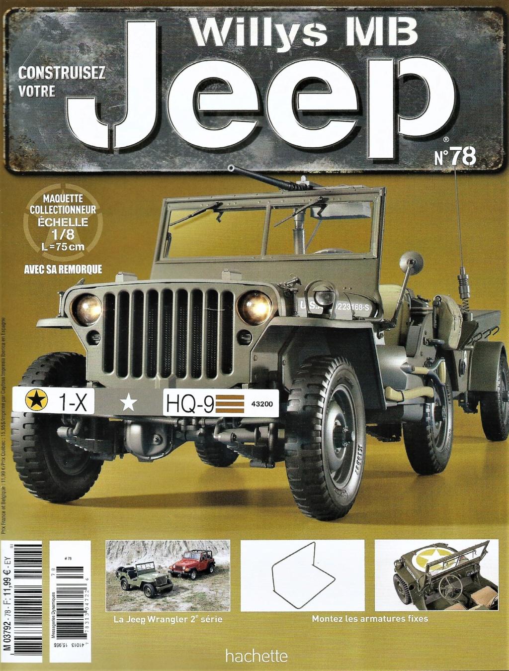 Jeep Willys - 1/8ème - Ed. Hachette - Construction par Glénans (Partie 2) - Page 3 N78_pa10