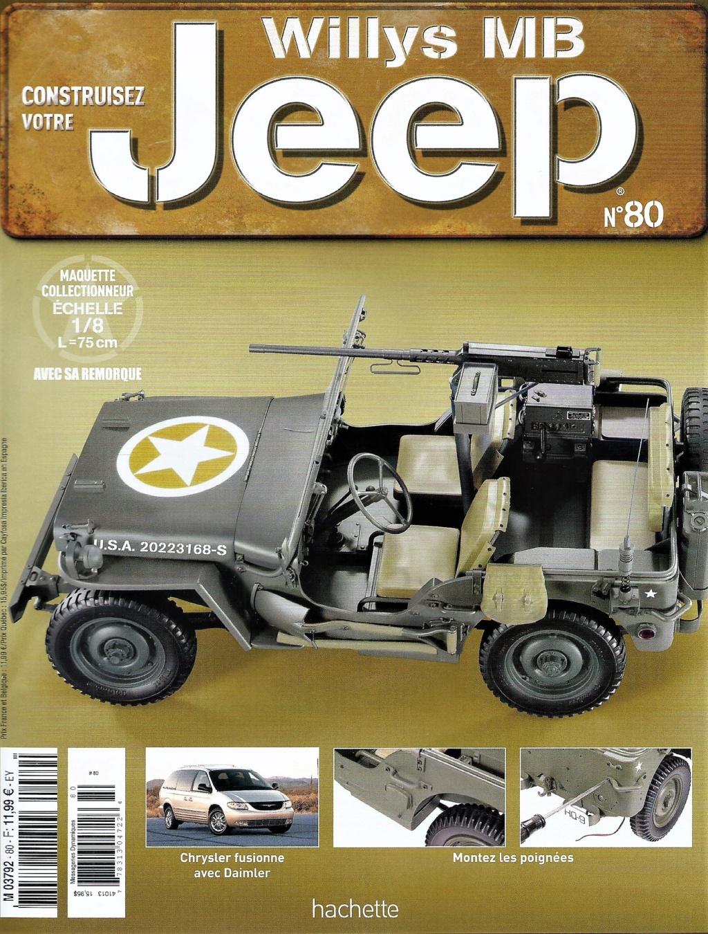Jeep Willys - 1/8ème - Ed. Hachette - Construction par Glénans (Partie 2) - Page 3 N80_pa10