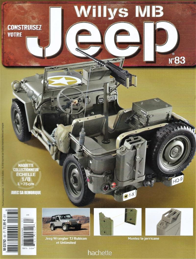 Jeep Willys - 1/8ème - Ed. Hachette - Construction par Glénans (Partie 2) - Page 4 N83_pa10