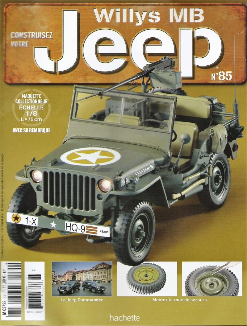 Jeep Willys - 1/8ème - Ed. Hachette - Construction par Glénans (Partie 2) - Page 5 N85_pa10