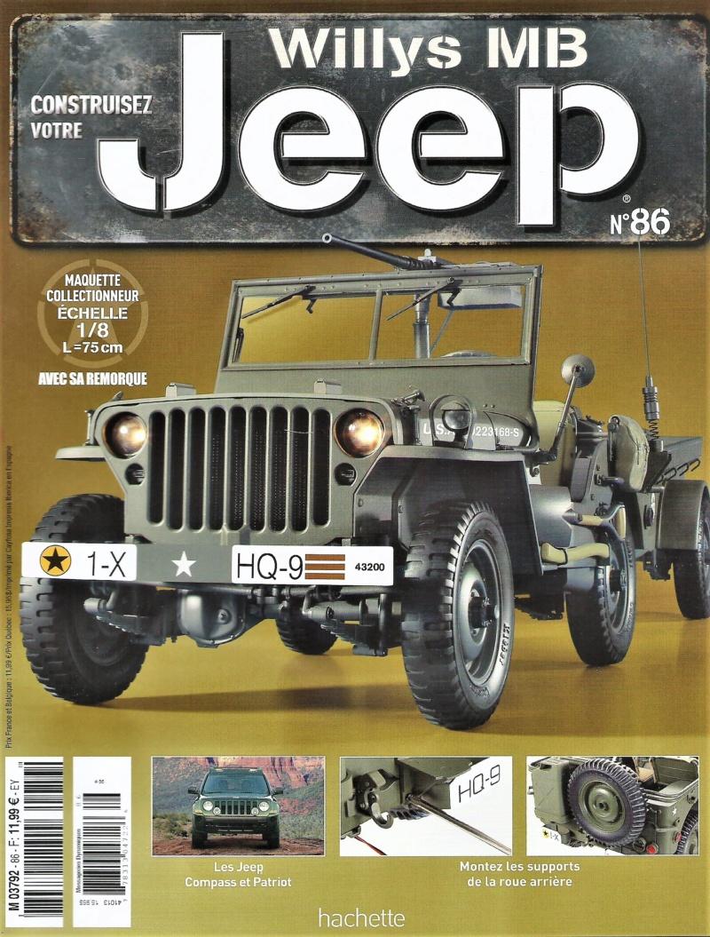 Jeep Willys - 1/8ème - Ed. Hachette - Construction par Glénans (Partie 2) - Page 5 N86_pa10