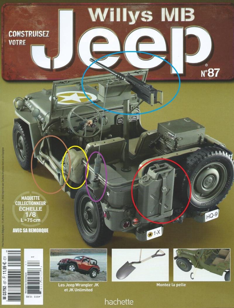 Jeep Willys - 1/8ème - Ed. Hachette - Construction par Glénans (Partie 2) - Page 5 N87_pa11