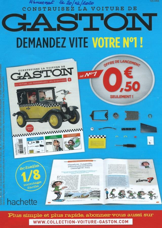 """Construction, par Glénans, de la """"Voiture de Gaston"""" au 1/8, de chez Hachette Pub_pr10"""