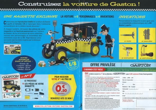 """Construction, par Glénans, de la """"Voiture de Gaston"""" au 1/8, de chez Hachette Pub_pr12"""
