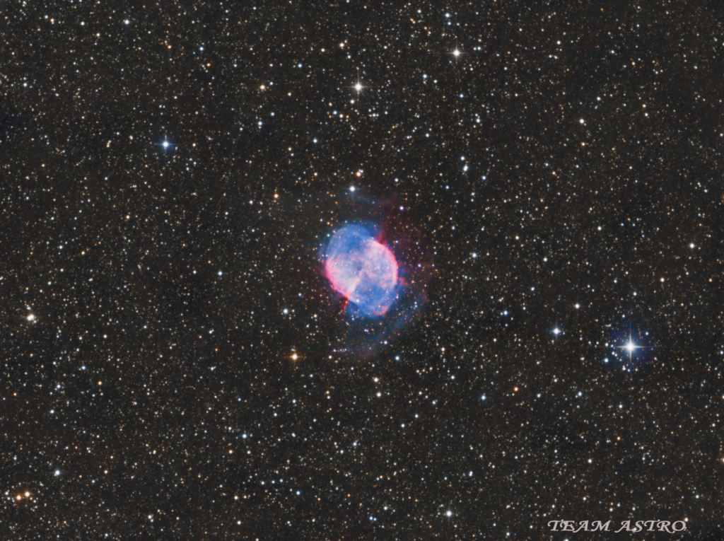 M27 La nébuleuse de l'Haltère M2720-10