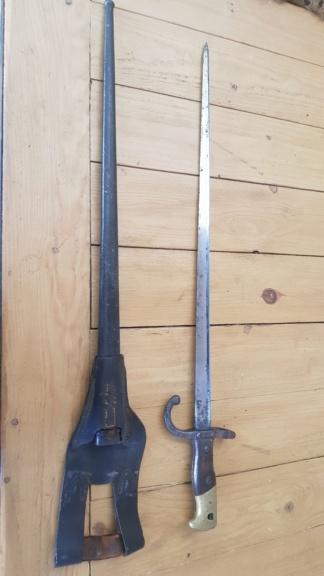 épée baïonnette Gras mod 1874 20200414