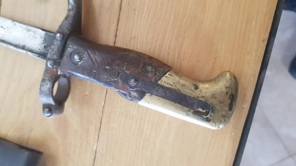 épée baïonnette Gras mod 1874 20200415
