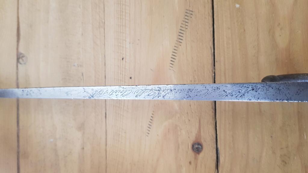 épée baïonnette Gras mod 1874 20200417