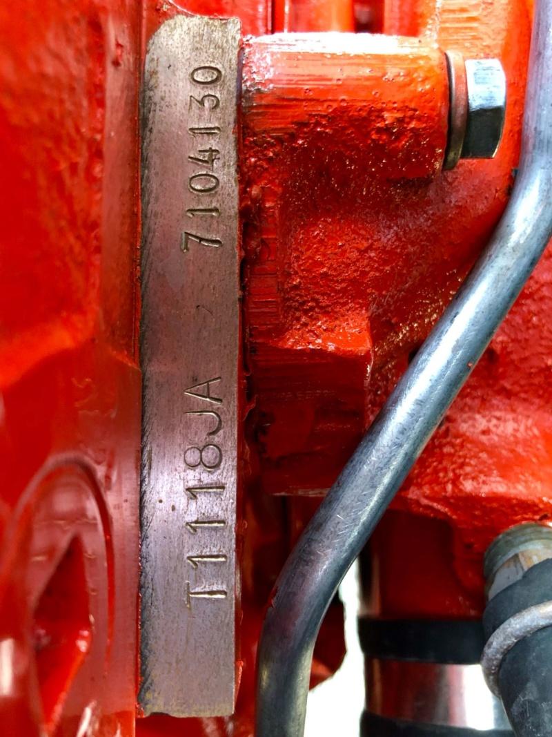 Numéro du moteur Convertible 1986  pour FFVE Chevro10