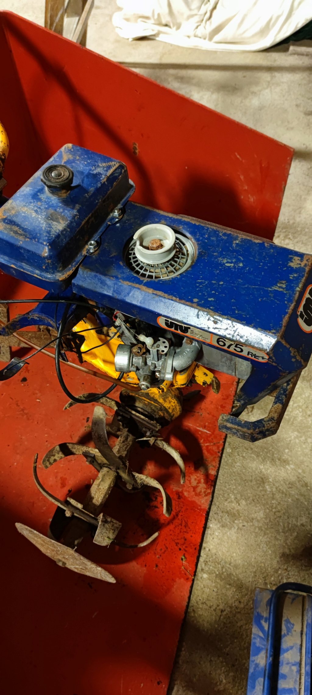 Motozappa  imt 675 rl aiuto per restauro 16170511