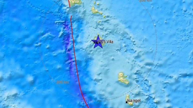 Σεισμός 5,9 Ρίχτερ στο Βανουάτου Image11