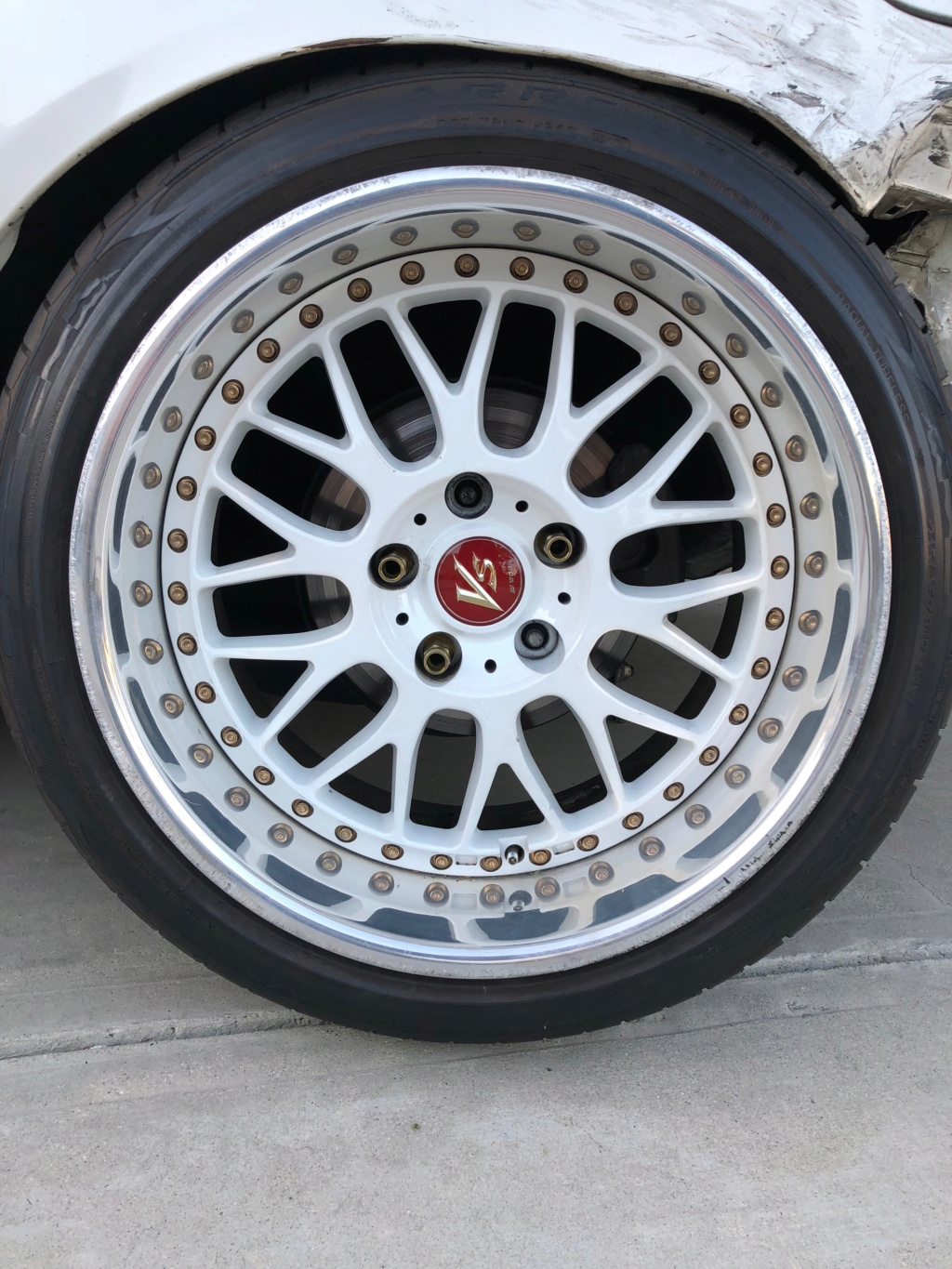 Wheels For Sale: 17x9.5 +10 Work VSXX - $2000 OBO - Los Angeles, CA Img_0210