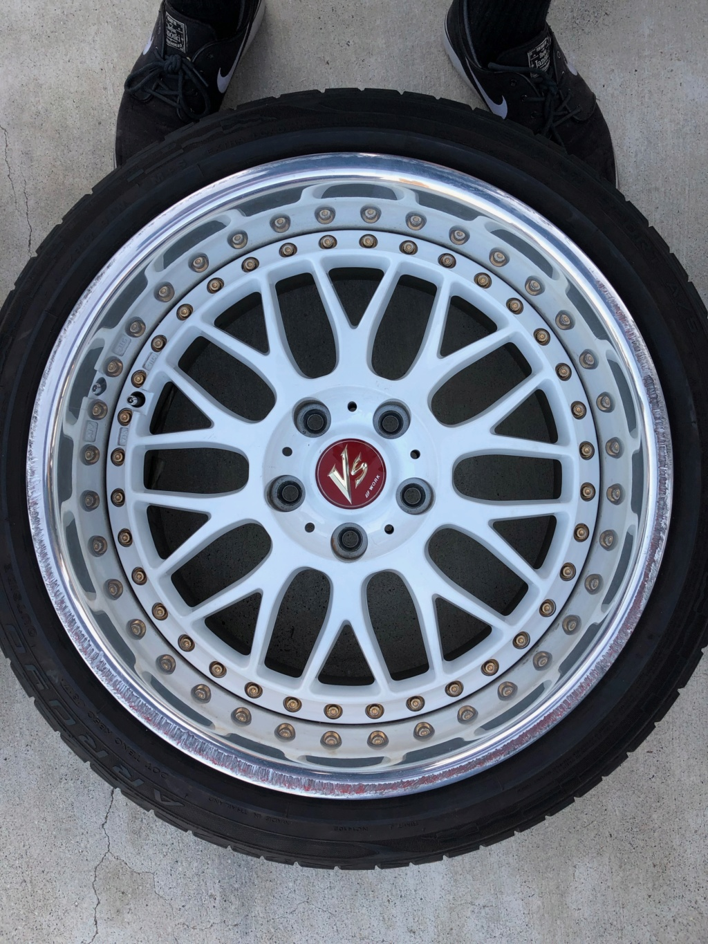 Wheels For Sale: 17x9.5 +10 Work VSXX - $2000 OBO - Los Angeles, CA Img_0211