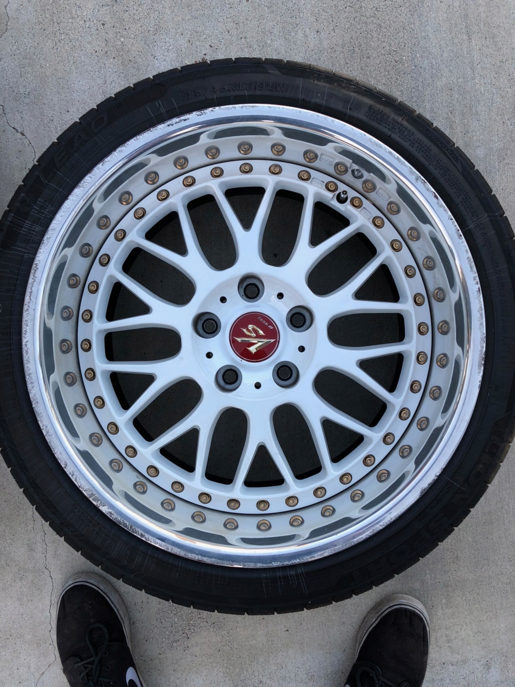 Wheels For Sale: 17x9.5 +10 Work VSXX - $2000 OBO - Los Angeles, CA Img_0212
