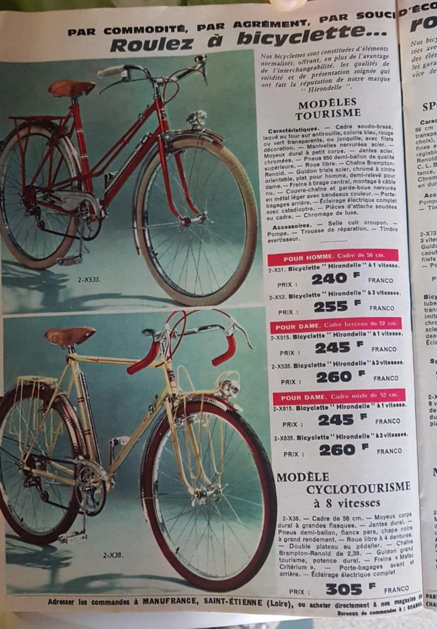 Quelques pages du catalogue manufrance 1966 Img_2191