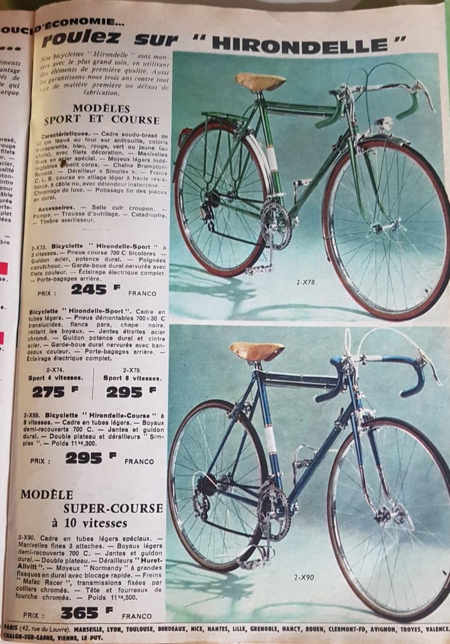 Quelques pages du catalogue manufrance 1966 Img_2192