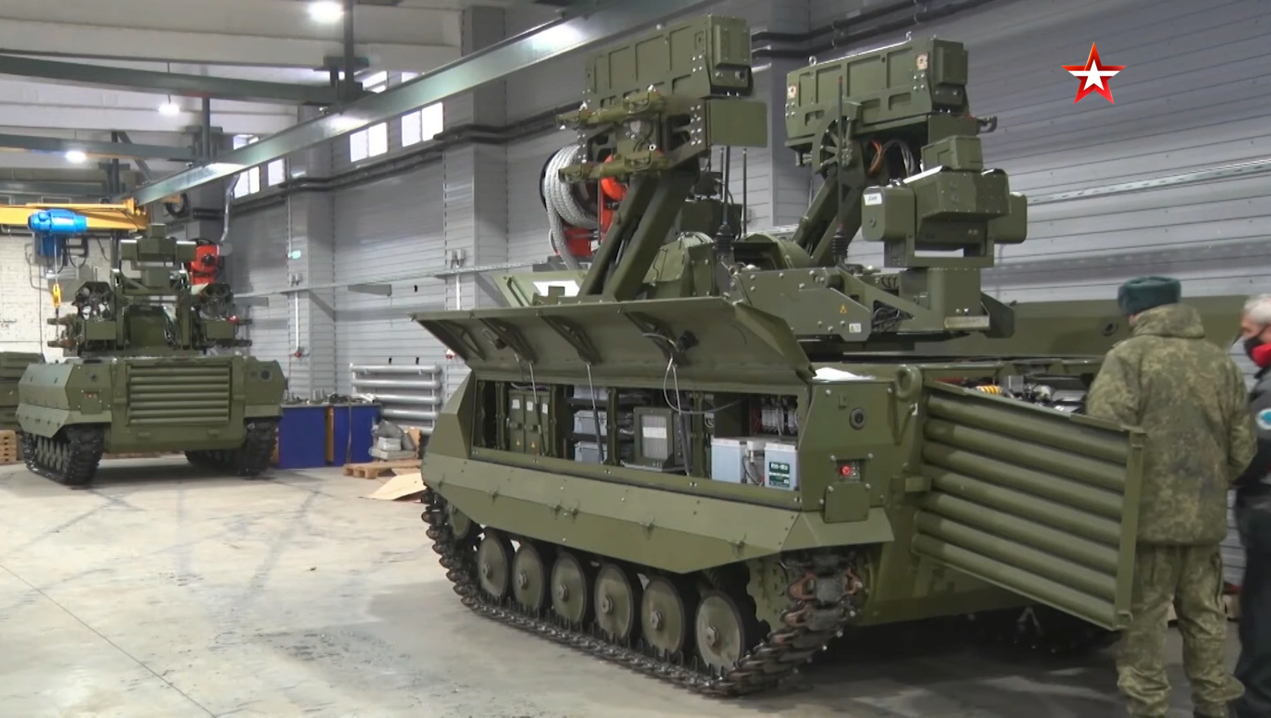 Russian Army Robots - Page 20 Uran-910