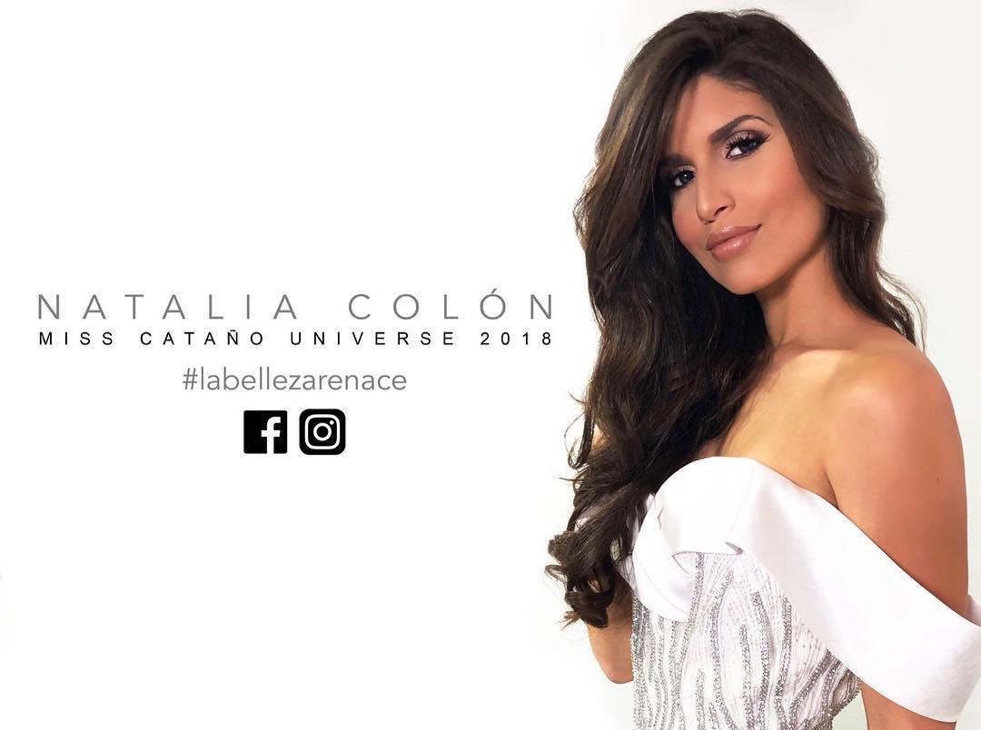 natalie colon, miss catano universe 2018. - Página 2 34565310