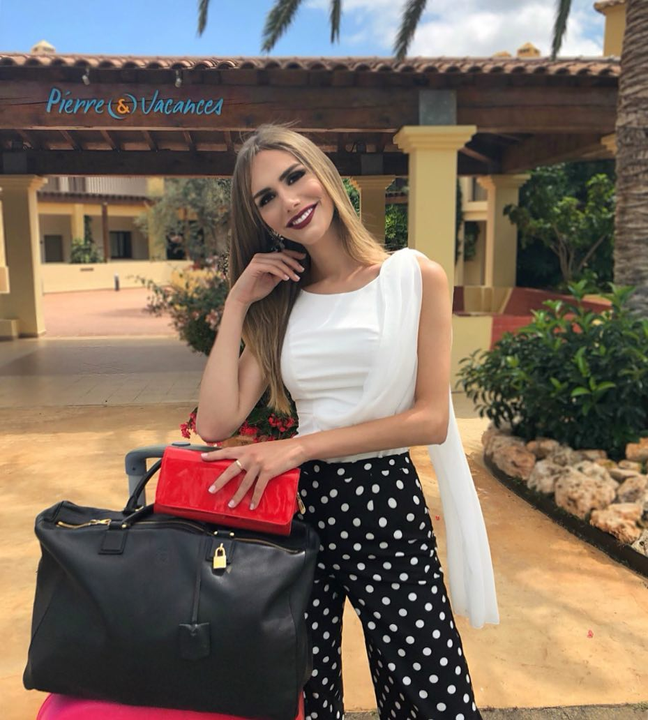 angela ponce, miss espana universo 2018. 34816410