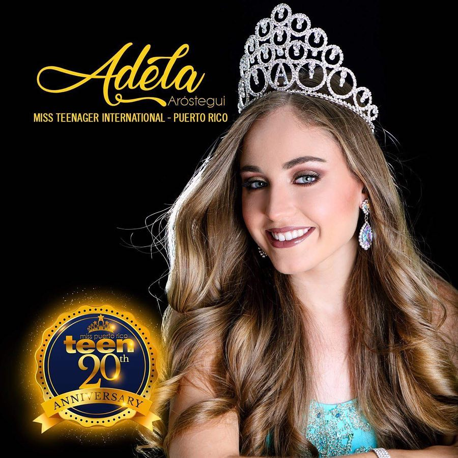 adela arostegui, 3rd runner-up de miss teenager international 2018/1st runner-up de miss teen intercontinental. 35173410
