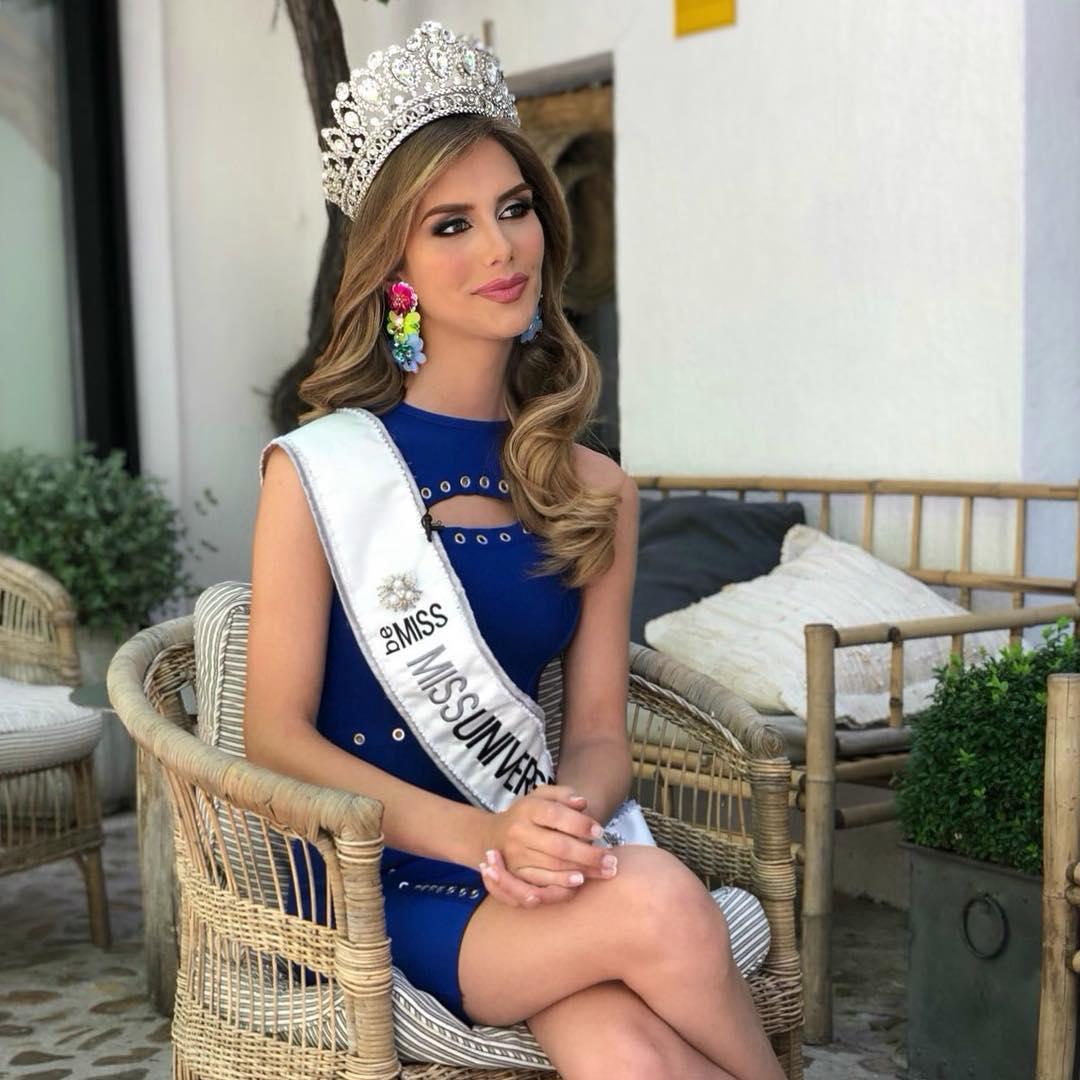 angela ponce, miss espana universo 2018. 35999211
