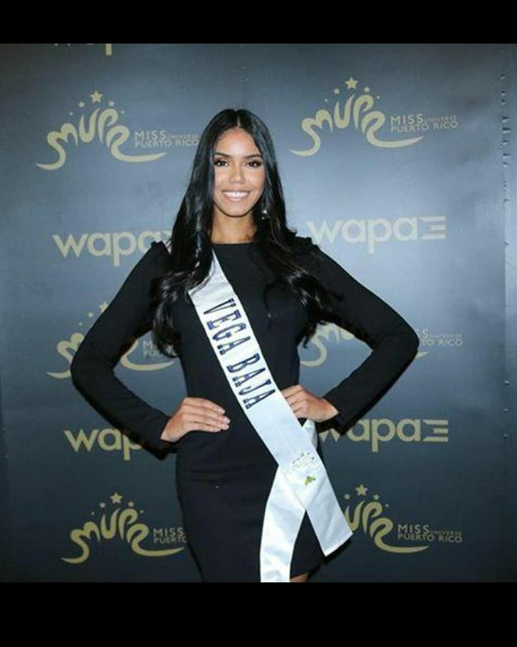 alejandra pagan, miss vega baja universe 2018. 35999710