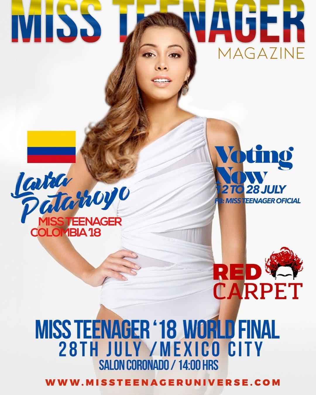 valentina patarroyo, miss teenager 2018. - Página 2 36740410